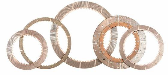 Friction Plate Clutch Disc Paper Disc Steel Mating Plate